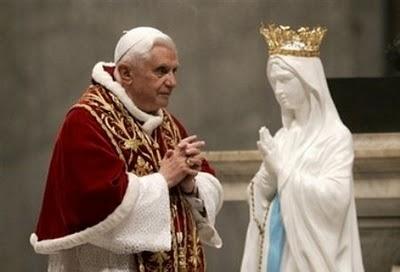 Risultati immagini per Theotokos Benedetto XVI