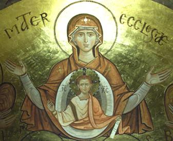 Risultati immagini per bvm madre della chiesa