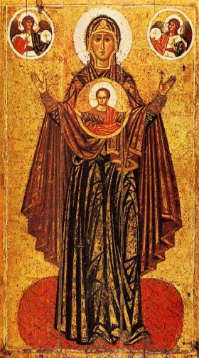 18 décembre : L'expectation de la Bse Vierge Marie La-vergine-del-segno