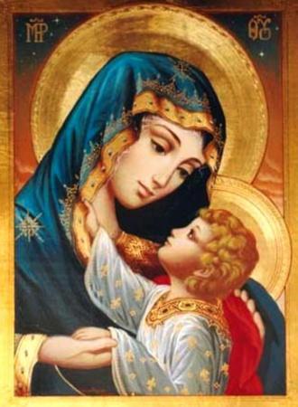 """Estremamente PORTALE DI MARIOLOGIA - La Vergine Maria """"Tempio del Signore"""" IQ27"""